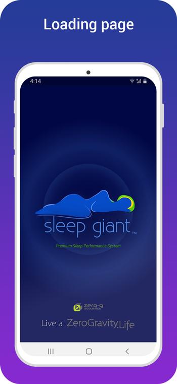 sleep giant loading page