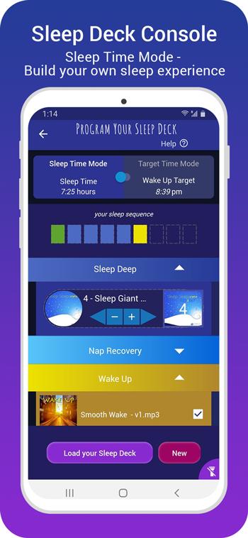 sleep giant console - sleep time mode