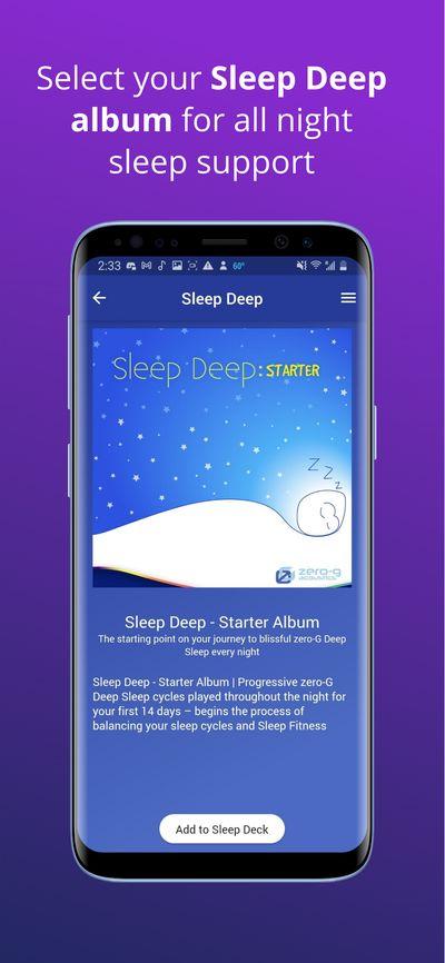 Sleep Deep Starter album